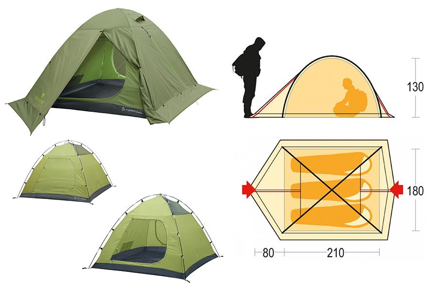 Tenda Kalahari 3