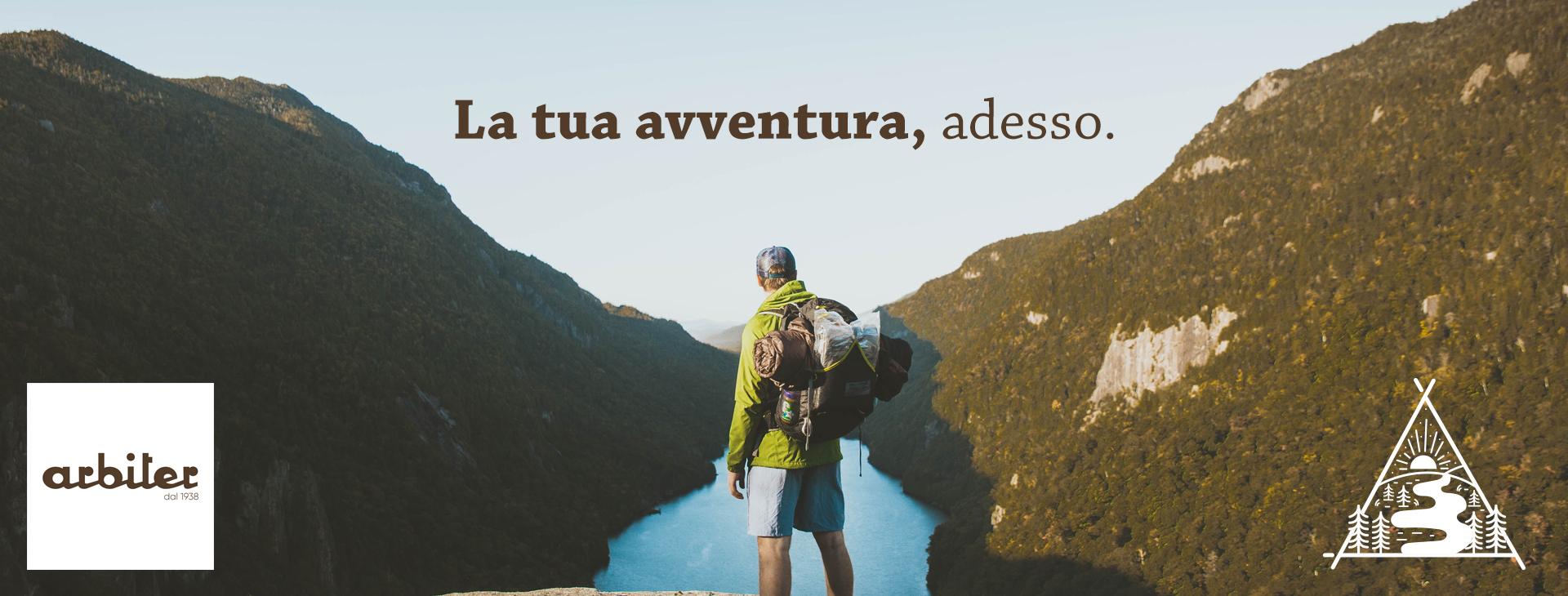 Arbiter Trekking, dal 1938 in Via Toledo 286 - Napoli.